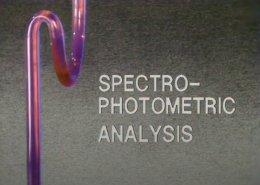 Spectrophotometric Analysis