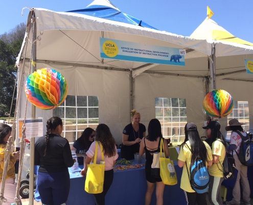 Office of Instructional Development Booth at Bruin Day