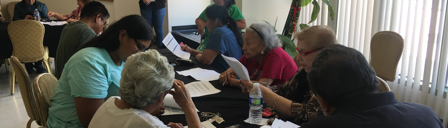teaching between generations at Puede Center