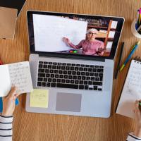 Online classroom for a STEM class