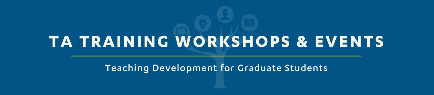 TA Training Workshops and Events